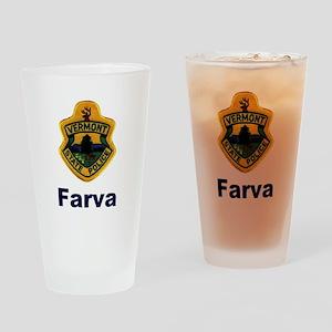 Farva Gear Pint Glass