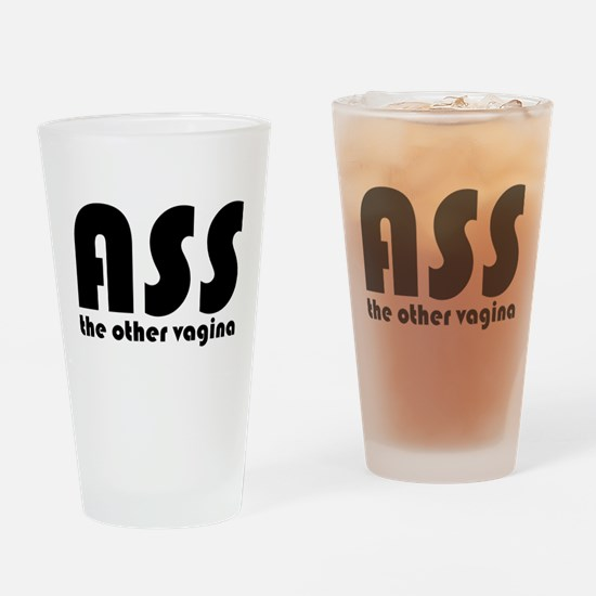 Ass the Other Vagina Pint Glass