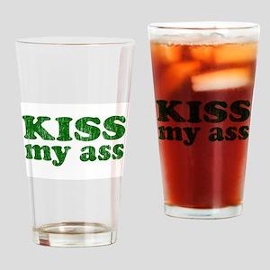 KISS my ass Pint Glass