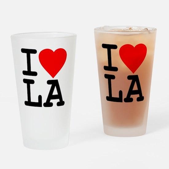 I Love LA Pint Glass