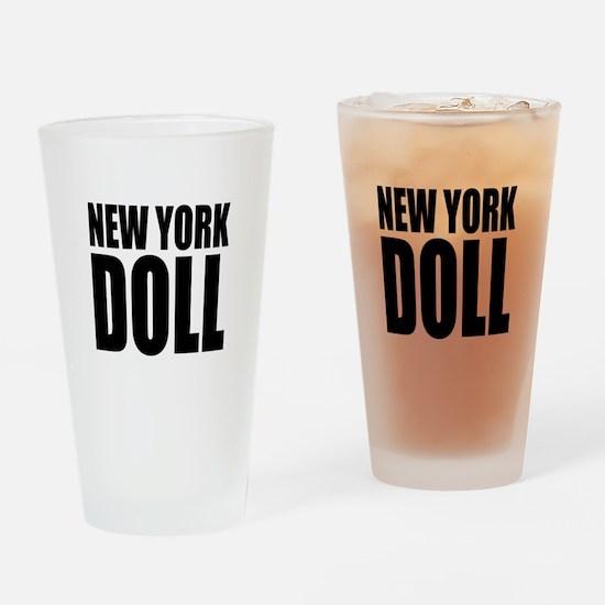 New York Doll Pint Glass