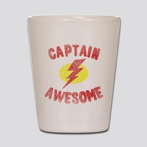 Captain Awesome Shot Glass