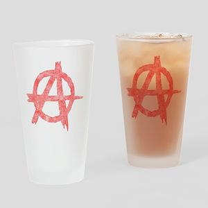 Vintage Anarachy Symbol Pint Glass