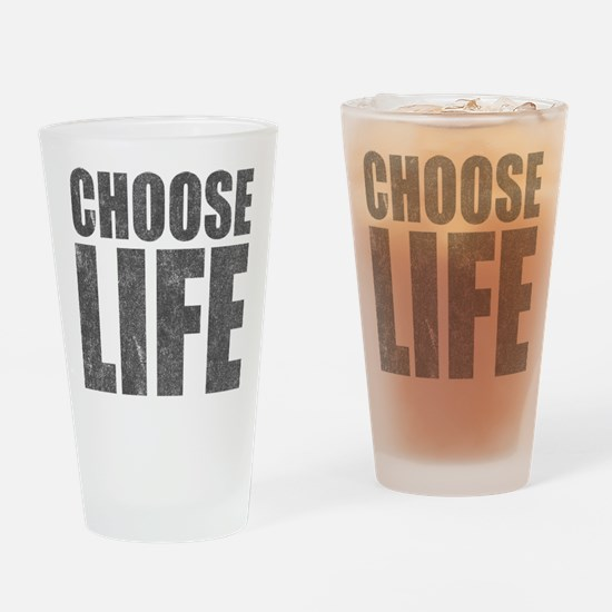 Choose Life Pint Glass