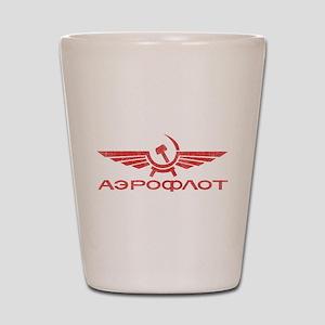 Vintage Aeroflot Shot Glass