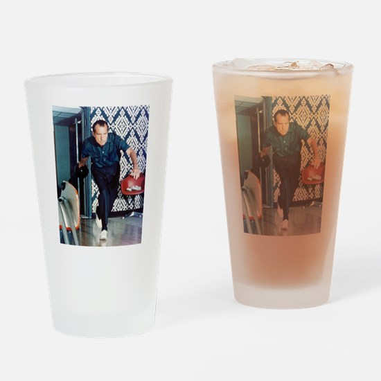 Nixon Bowling Pint Glass