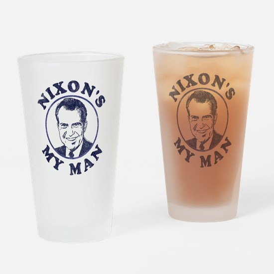 Nixon's My Man T-Shirt Pint Glass