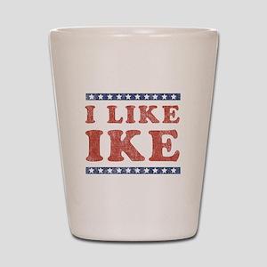 I Like Ike Shot Glass