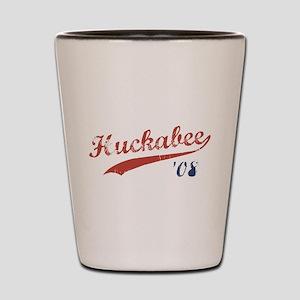 Huckabee '08 Jersey Shot Glass