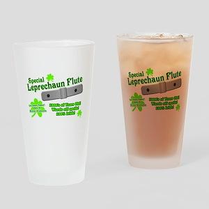 Special Leprechaun Flute Pint Glass