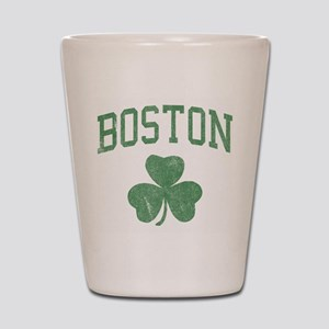 Boston Irish Shot Glass