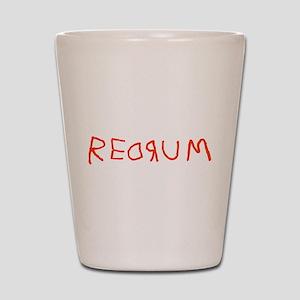 Redrum Shot Glass