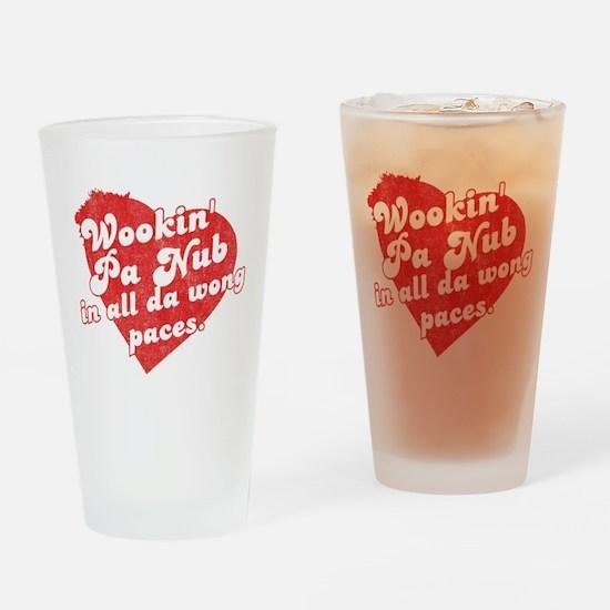 Wookin' Pa Nub Pint Glass