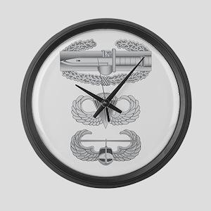 CAB Airborne Air Assault Large Wall Clock