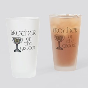 Celtic Brother Groom Pint Glass