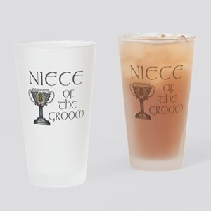 Celtic Niece of Groom Pint Glass