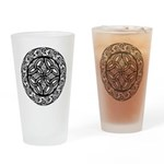 Celtic Shield Drinking Glass