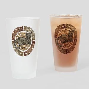 Celtic Cat Pint Glass