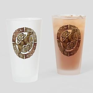 Celtic Dog Pint Glass