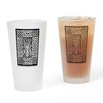 Celtic Knot Bare Branches Drinking Glass