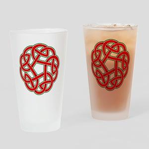 Celtic Christmas Knot Pint Glass