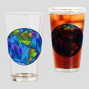 Planet Earth Art Pint Glass