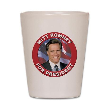 Mitt Romney for President Shot Glass