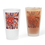 Poinsettia Power Pint Glass
