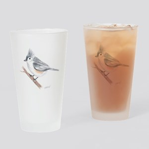 Tufted Titmouse Pint Glass