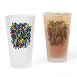 Leaves on Water Pint Glass