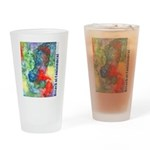 Breach of Containment Art Drinking Glass