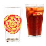 Flametip Flower Pint Glass