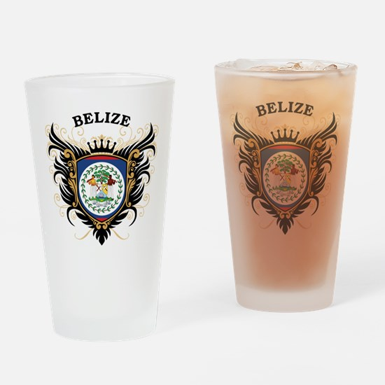 Belize Drinking Glass
