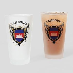 Cambodia Drinking Glass