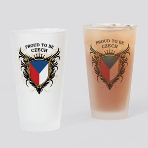 Proud to be Czech Pint Glass