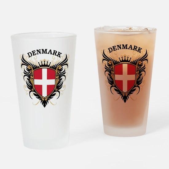 Denmark Drinking Glass