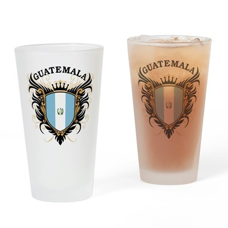 Guatemala Drinking Glass
