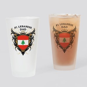 Number One Lebanese Dad Pint Glass