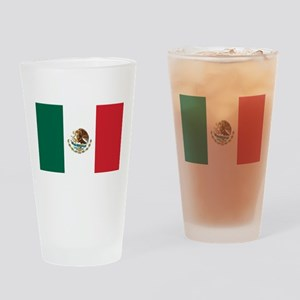 Flag of Mexico Pint Glass