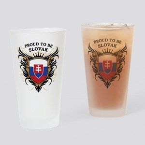 Proud to be Slovak Pint Glass
