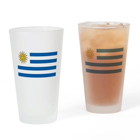 Flag of Uruguay Pint Glass