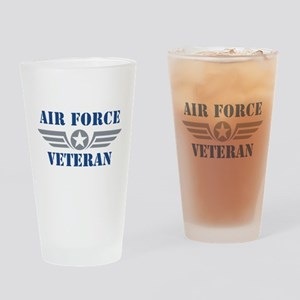 Air Force Veteran Pint Glass