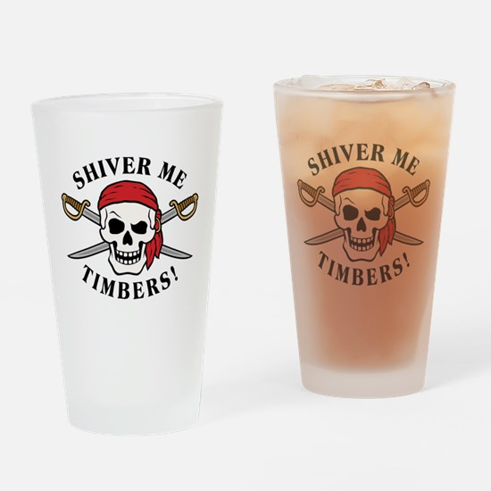 Shiver Me Timbers! Pint Glass