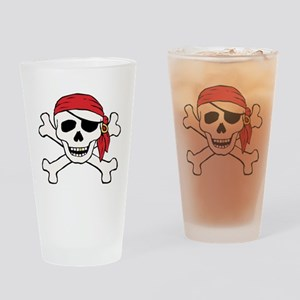 Funny Pirate Pint Glass