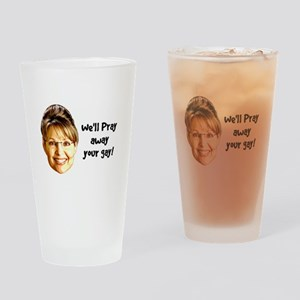 Pray Away Gay Pint Glass