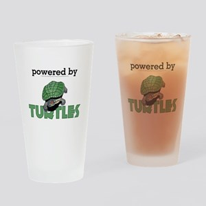 Powered By Turtles Pint Glass