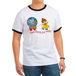 World For Kids Ringer T