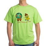 World For Kids Green T-Shirt