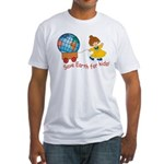 World For Kids Fitted T-Shirt
