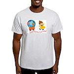 World For Kids Ash Grey T-Shirt